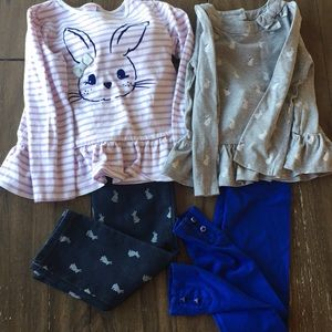 2 Gymboree spring/Easter sets 5T